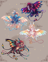 [CLOSED, thank you!] Kite Batch III: The Oneiroi by crowlets