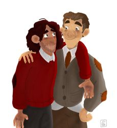 Sirius Black and Remus Lupin - 13 years later by Giorgia99