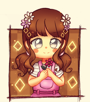 Commission |Spring Haley chibi by AngelLinx3