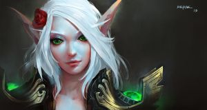 Ehri Skywing (blood elf) by KEKSE0719