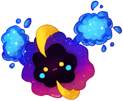 pokemon (SunMoon) -- Cosmog by onisuu