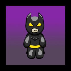 Too Cute Batman by caitlyn1701