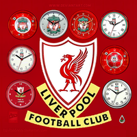 Liverpool FC Clocks by RobDebo