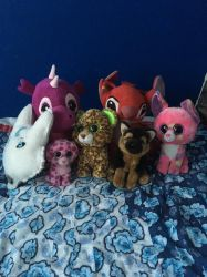 My plush collection part 1 by Dogsparadise