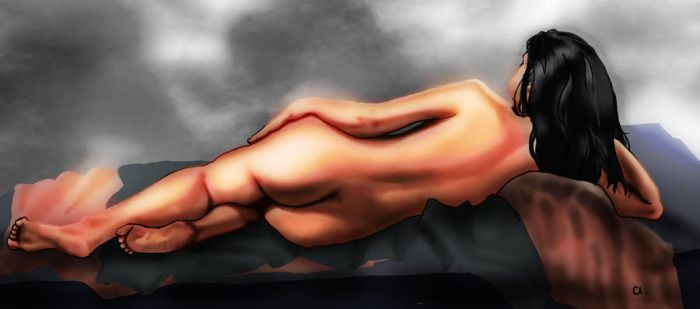 Figure drawing by Amarbiter