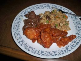Sweet And Sour pork by LotusFoxfire