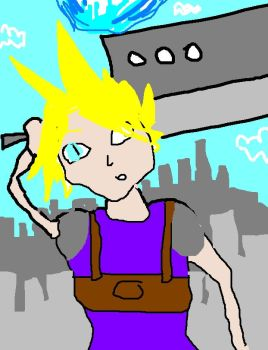 CLOUD STRIFE by alh
