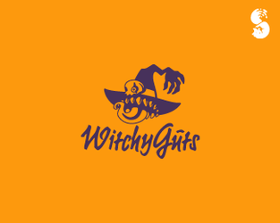 WitchyGuts-Logo by whitefoxdesigns