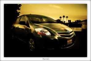 Yaris in shade by pavel89l