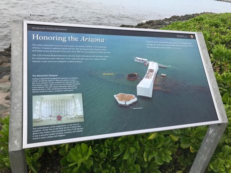 Honoring the USS Arizona by DarthShinji