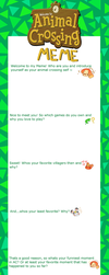 Animal Crossing Meme by Ruhianna
