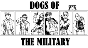 FMA: Dogs of the Military by tviki