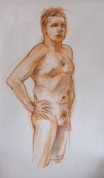 Life Drawing Feb by ChristineAltese