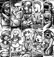 Miiverse Art: UNDERTALE by AriaDurocher