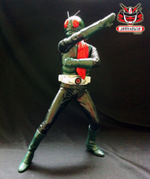 1/6 Kamen Rider No.1 Classic Vinyl Kit Painted 02 by wongjoe82