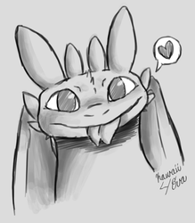 Toothless by Kawaii4eva