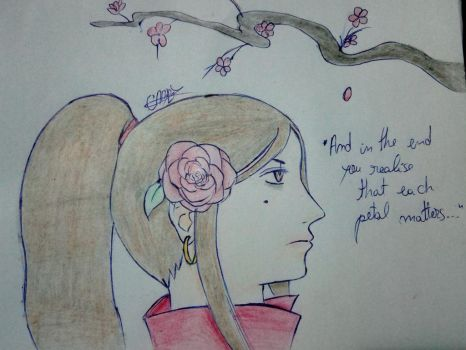 The petal by HomicidalThoughts