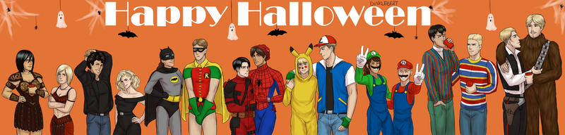 SNK Costume Party by Dinklebert