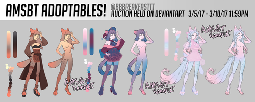 March Adoptables! AUCTION !!! 3/5 - 3/10 by AMSBT