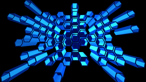 HexWallPaper by Catfor