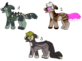 canine auctions [closed] by Lysonu---Adopts