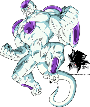 Final Form Frieza 100% Full Power by MAD-54