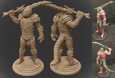 EverQuest Figure Commission by GaryStorkamp