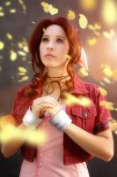 Final Fantasy VII: Aerith by DidsRainfall