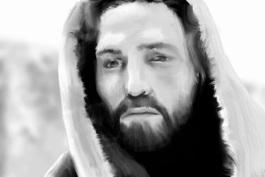 The Passion Of Christ Fanart Digital Painting by TeddyGraphics
