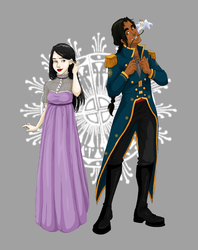 Commission - Lily and Andresh by LegoVasavouchi