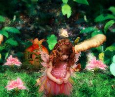 Cute Little Fairy by Aysha1994raven