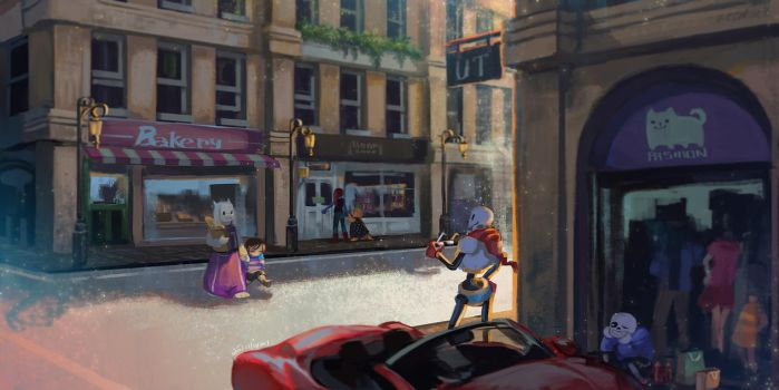 UT- Street by christon-clivef