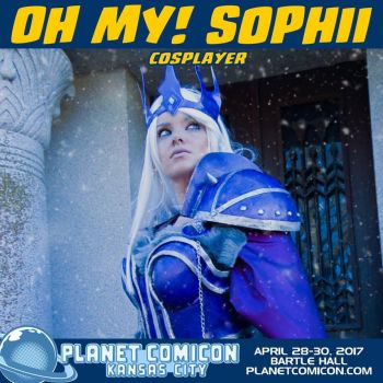 Planet Comicon!!! by OhMySophii