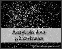 Snowbrushes by AzurylipfesStock