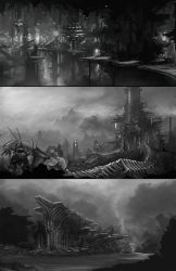 Concept sketches 01 by everlite
