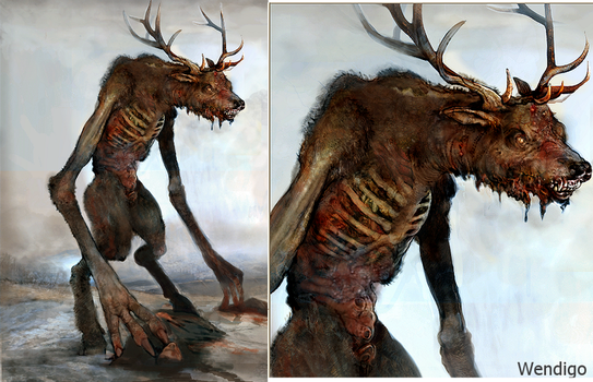 Wendigo by Monkey-Paw
