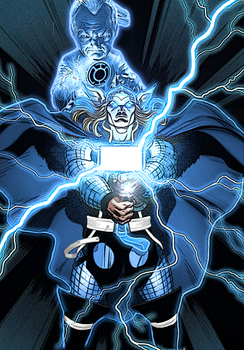 Blue Lantern Thor by ComicMultiverse