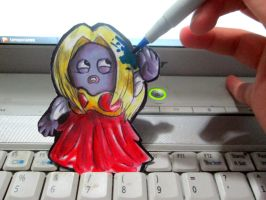 Paperchild 197.Pokemon#124 - Jynx