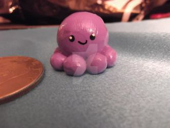 Purple octopus miniture by Kashi-kun