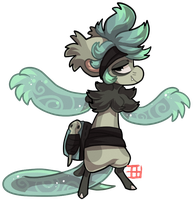 #1209 Legendary BB - Armless reptile by griffsnuff