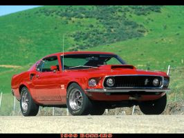 1969 Boss429 by puddlz
