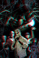 Justice League Dark in 3D Anaglyph by xmancyclops