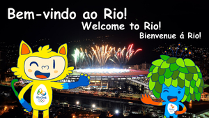 Welcome To Rio! by SilverDaLugia123