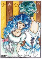 ACEO - Sisters by miscanthusroyalty