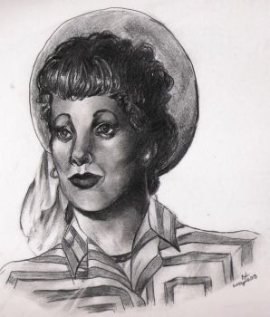 Lucille Ball -I love Lucy by BlueValentineRose