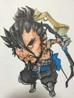 Overwatch -- Hanzo by The-Z