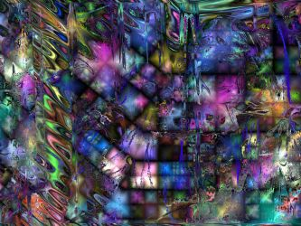 Color Abstract 234 by reaktorplayer