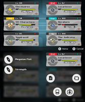 Pokemon ~ New Selection Screen (mockup) by Fraot