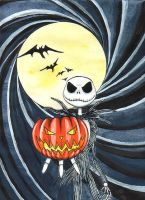 Jack Skellington by redheaded-step-child