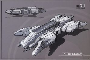 X Speeder by KaranaK